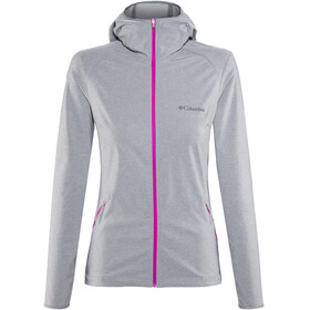 Columbia Heather Canyon Softshell Jacket Women grey ash heather